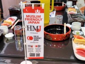 Sushi Halal (Foto dari JHTC)