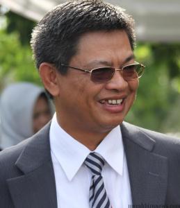 Gubernur Kalimantan Utara Irianto Lambrie (Foto, Merahbirunews.com)